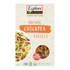 Explore Cuisine Organic Chickpea Fusilli - Chickpea Fusilli - Case of 6 - 8 oz. HGR 1860394