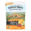 Black Bean Crisps - Mango Chile Lime - Case of 12 - 3 oz.