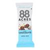 88 Acres Bars - Chocolate and Sea Salt - Case of 9 - 1.6 oz.. HGR 1898568