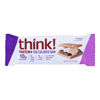 Think! Thin Protein and Fiber Bar - SMores - Case of 10 - 1.41 oz. HGR 1901438
