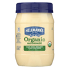 Hellmann's Organic Mayonnaise - Case of 6 - 15 FZ HGR 1927938