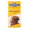 Ghirardelli Baking Bar - Semi-Sweet Chocolate - Case of 12 - 4 oz.. HGR 1957315