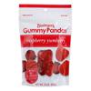 Gummy Pandas Raspberry Yumberry - Case of 12 - 3 oz..
