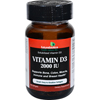 Vitamins OTC Meds Vitamin D: FutureBiotics - Vitamin D3 - 2000 IU - 120 Softgels