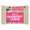 Bearded Brothers Energy Bar - Radical Raspberry Lemon - Case of 12 - 1.52 oz.. HGR 2021467