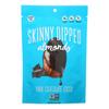 Skinny Dipped Almonds Dark Chocolate Cocoa - Case of 10 - 3.5 oz. HGR 2030112