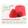 Simply Delish Jel Dessert - Raspberry - Case of 6 - 1.6 oz.. HGR2030278