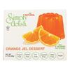 Simply Delish Natural Jel Dessert - Orange - Case of 6 - 1.6 oz.. HGR2030302