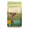 Lotus Foods Organic - Rice - Brown - Jasmine - Case of 6 - 30 oz HGR 2031318