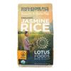 Lotus Foods Organic - Rice - White - Jasmine - Case of 6 - 30 oz HGR 2031326