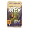 Lotus Foods Organic Rice - Brown Basmati - Case of 6 - 30 oz HGR 2031334