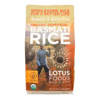Lotus Foods Organic Rice - Jasmine - Case of 6 - 30 oz HGR 2031367