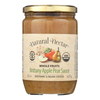 Brittany Sauces - Apple - Case of 6 - 22.2 oz..