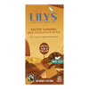 Lily's Sweets Salted Caramel Milk Chocolate Style Bars - Case of 12 - 2.80 oz. HGR 2066322