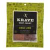 Krave Beef Jerky - Chili Lime - Case of 8 - 2.7 oz. HGR 2096691