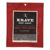 Krave Beef Jerky - Garlic Chili Pepper - Case of 8 - 2.7 oz. HGR 2096717