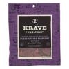 Krave Pork Jerky - Black Cherry Barbeque - Case of 8 - 2.7 oz.. HGR 2096733