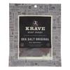 Krave Beef Jerky - Sea Salt Original - Case of 8 - 2.7 oz. HGR 2096741
