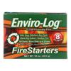 Enviro Log Firestarters - 8 Ct - Case of 12 - 10 oz. HGR 2100170