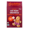 Cookie Mix - Very Merry Gingerbread - Case of 6 - 23 oz..