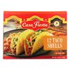 Casa Fiesta Taco Shells 12 Shells Box - Case of 12-4.6 oz. HGR2105302