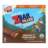 Clif Kid Zbar Filled - Chocolate Peanut Butter - Case of 8 - 5/1.06oz HGR 2106334