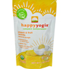 snacks: Happy Baby - HappyMelts Organic Yogurt Snacks for Babies and Toddlers Banana Mango - 1 oz - Case of 8