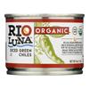 Rio Luna Organic Green Chiles - Diced - Case of 12 - 4 oz.. HGR 2111276