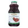 R.W. Knudsen Organic Juice - Just Cranberry - Case of 6 - 32 fl oz. HGR 2113280