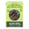 Organic Cardamom - Decorticated - Case of 6 - 0.35 oz..