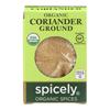 Organic Coriander - Ground - Case of 6 - 0.45 oz..