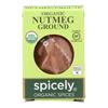 Organic Nutmeg - Ground - Case of 6 - 0.4 oz..
