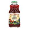 R.W. Knudsen Organic Juice - Cranberry Blueberry - Case of 6 - 32 fl oz. HGR 2117075