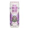 Organic Amazon Energy Drink - Low Calorie - Case of 12 - 12 fl oz.