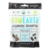 Yummy Earth Licorice - Organic - Black - Soft - Case of 12 - 5 oz. HGR 2134344