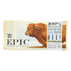 Epic Bar - Beef - Apple - Uncured Bacon - Case of 12 - 1.5 oz. HGR 2135648