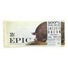 Epic Bar - Pork - Maple - Uncured Bacon - Case of 12 - 1.5 oz. HGR 2135820