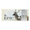 Epic Bar - Venison - Sea Salt - Pepper - Case of 12 - 1.5 oz. HGR 2135838