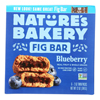 Nature's Bakery Stone Ground Whole Wheat Fig Bar - Blueberry - Case of 6 - 2 oz.. HGR 2135960