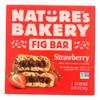 Nature's Bakery Stone Ground Whole Wheat Fig Bar - Strawberry - Case of 6 - 2 oz.. HGR 2136208