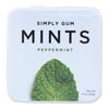 Simply Gum Mints - Peppermint - Case of 6 - 30 Count HGR 2138204