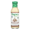 Drew's Organics Organic Dressing and Quick Marinade - Roasted Garlic and Peppercorn - 12 Fl. oz.. - Case of 6 HGR 2141737