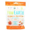 Yummy Earth Organics Soft Eating - Peach Licorice - Case of 12 - 5 oz.. HGR 2141976
