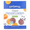 R. W. Garcia 3 Seed Harvest Crackers - Case of 6 - 6.5 oz. HGR 2148526