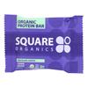 Square Organics Bar - Organic - Chocolate Cookie Dough - Case of 12 - 1.6 oz. HGR 2151538
