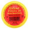 Roland Products Anchovy Fillet - Olive Ol - Jar - Case of 6 - 4.2 oz. HGR 2152320