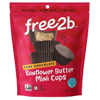 Free 2 B Sun Cups - Mini - Dark Chocolate - Case of 6 - 4.2 oz. HGR 2154763