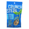 Crunchsters Sprouted Protein Snack - Sea Salt - Case of 6 - 4 oz.. HGR 2166080