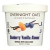 Dave's Gourmet Overnight Oats - Blueberry Vanilla Almond - Case of 8 - 2.1 oz.. HGR 2166908