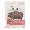 Epic Jerky Bites - Hickory Smoked Uncured Bacon and Pork Bites - Case of 8 - 2.5 oz.. HGR 2171320